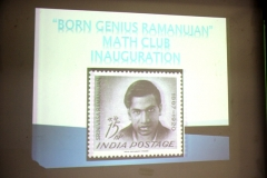 Born Genius Ramanujan - Maths Club