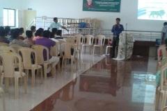 Career guidance to students of Government school Batlagundu