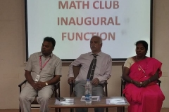 Math Club Inaugural Function 2018-2019